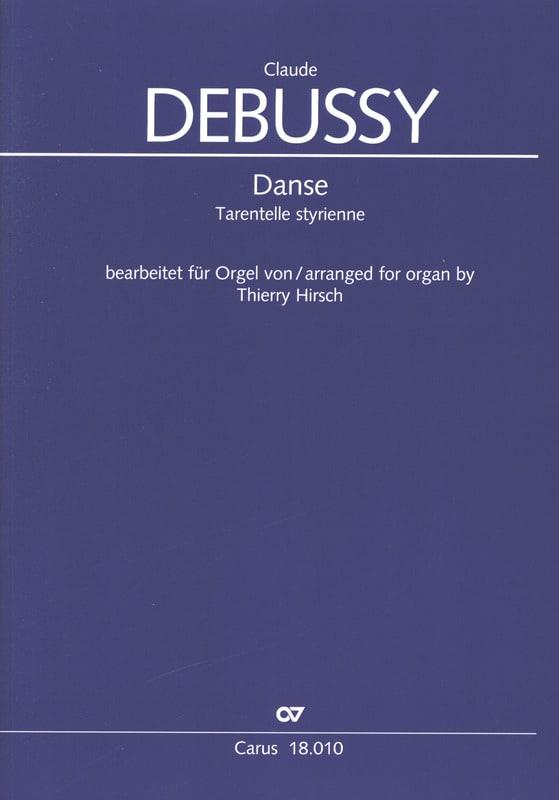 Danse - DEBUSSY - Partition - Orgue - laflutedepan.com
