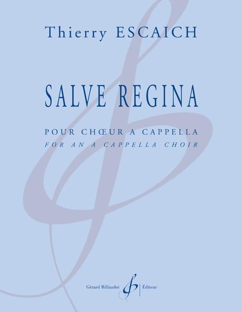 Salve Regina - Thierry Escaich - Partition - Chœur - laflutedepan.com