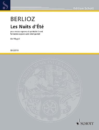Les Nuits d'été - BERLIOZ - Partition - laflutedepan.com