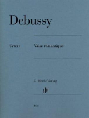 Valse romantique L 79 71 - DEBUSSY - Partition - laflutedepan.com