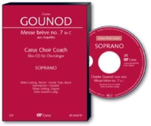 Messe Brève N° 7 En Do Majeur. CD Soprano CHOEUR - laflutedepan.com