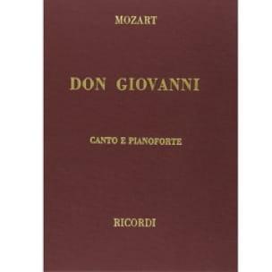 Don Giovanni. Edition Reliée - MOZART - Partition - laflutedepan.com