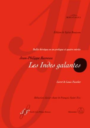 Les Indes Galantes - RAMEAU - Partition - Opéras - laflutedepan.com