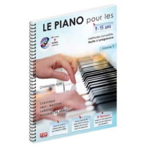 ASTIE Christophe - The Piano for 9 - 15 years old. Volume 1 - Partition - di-arezzo.com