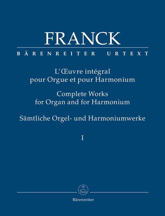 L'Oeuvre intégrale pour orgue et harmonium Volume 1 - laflutedepan.com