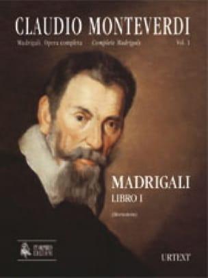 Madrigali Libro 1 - MONTEVERDI - Partition - Chœur - laflutedepan.com