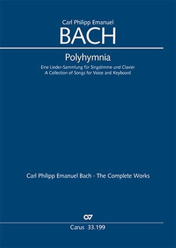 Polyhymnia - Carl-Philipp Emanuel Bach - Partition - laflutedepan.com
