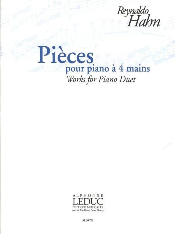 Pièces pour Piano à 4 mains - Reynaldo Hahn - laflutedepan.com