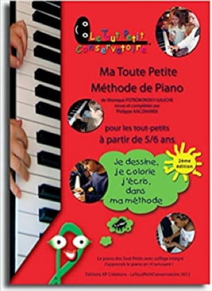 Ma Toute-Petite Méthode de Piano Volume 1 - laflutedepan.com