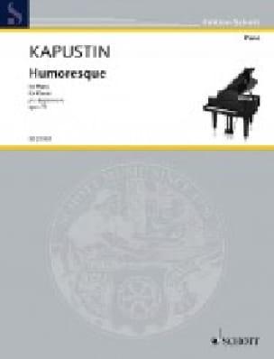 Humoresque Opus 75 - Nikolai Kapustin - Partition - laflutedepan.com