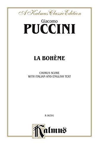 Giacomo Puccini - Bohemian. Choir - Partition - di-arezzo.com