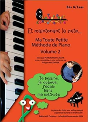 Ma Toute Petite Méthode de Piano Volume 2 - laflutedepan.com