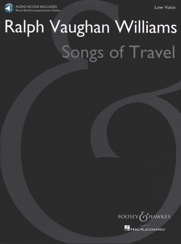 Songs of Travel. Voix Grave - WILLIAMS VAUGHAN - laflutedepan.com