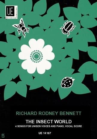 The Insect world - Richard Rodney Bennett - laflutedepan.com