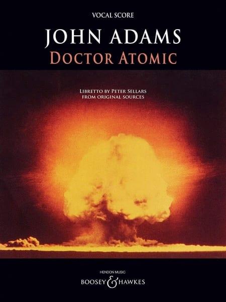 Doctor Atomic - John Adams - Partition - Opéras - laflutedepan.com