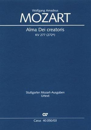 Alma Dei Creatoris. Offertorium De B.M.V K 277 - laflutedepan.com
