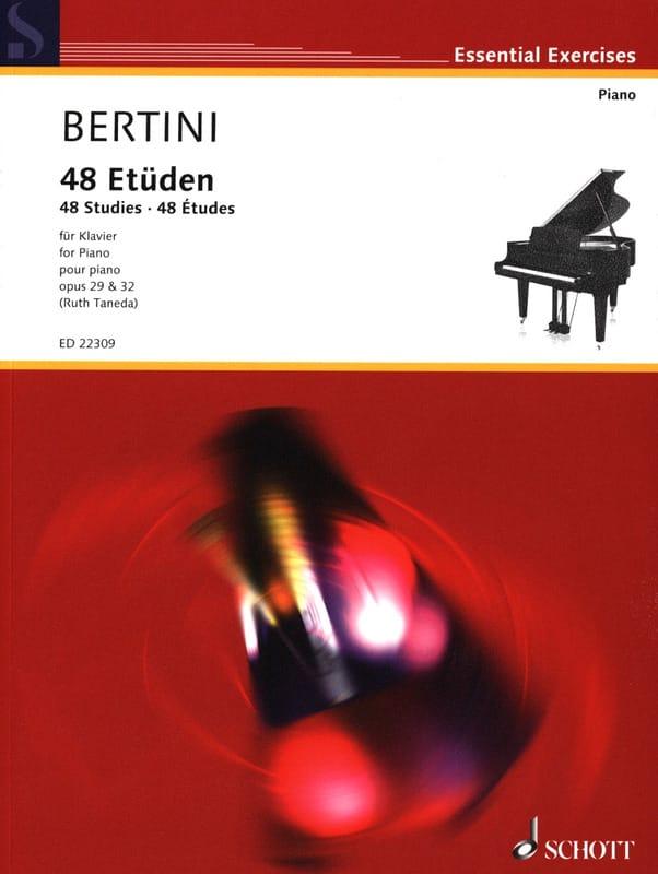 Henri Bertini - 48 Opus Studies 29 and 32 - Partition - di-arezzo.com
