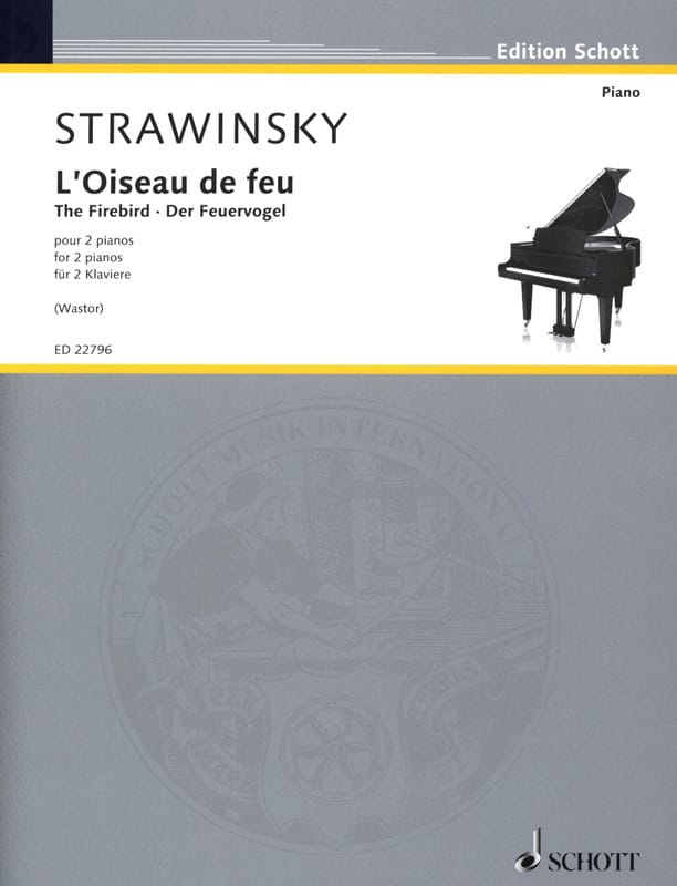L'Oiseau de Feu - Igor Stravinski - Partition - laflutedepan.com