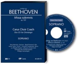 Missa Solemnis Opus 123. CD Soprano - BEETHOVEN - laflutedepan.com