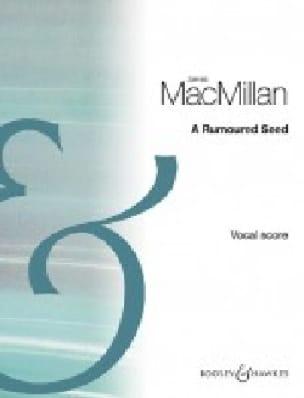 A Rumoured Seed - James MacMillan - Partition - laflutedepan.com