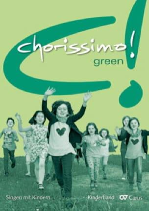Chorissimo! Green. Partie de Piano - Partition - laflutedepan.com