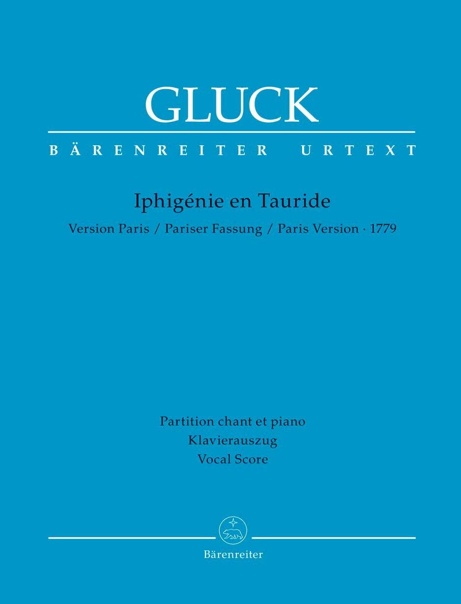 GLUCK - Iphigenia in Tauris. - Partition - di-arezzo.co.uk