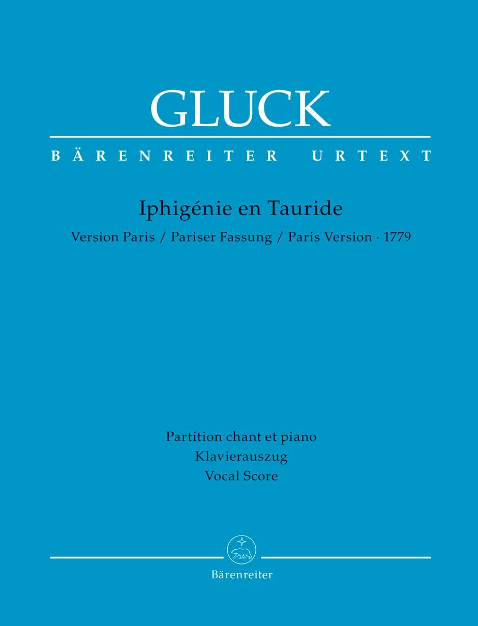 GLUCK - Iphigénie en Tauride. - Partition - di-arezzo.fr
