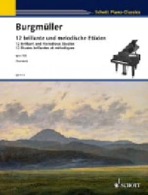 12 Etudes brillantes et mélodiques Opus 105 - laflutedepan.com