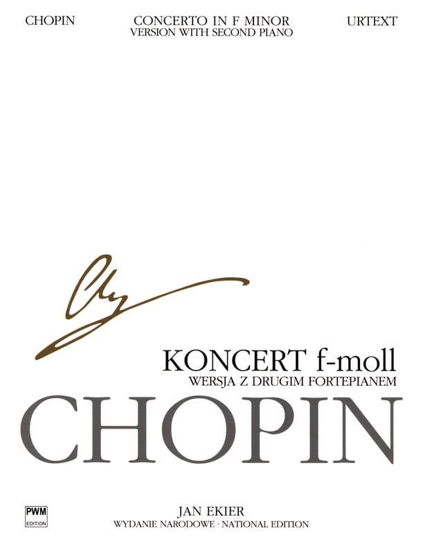 Frédéric Chopin - Piano Concerto No. 2 in F minor op. 21 - Partition - di-arezzo.co.uk