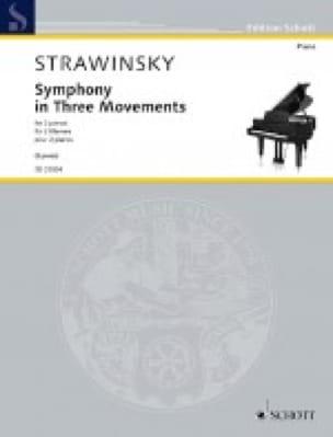 Symphony in Three Movements. 2 pianos - laflutedepan.com