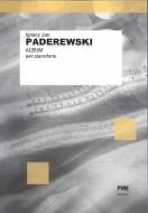Album per Pianoforte - Ignacy Paderewski - laflutedepan.com
