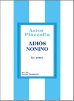 Adios Nonino. 2 pianos - Astor Piazzolla - laflutedepan.com