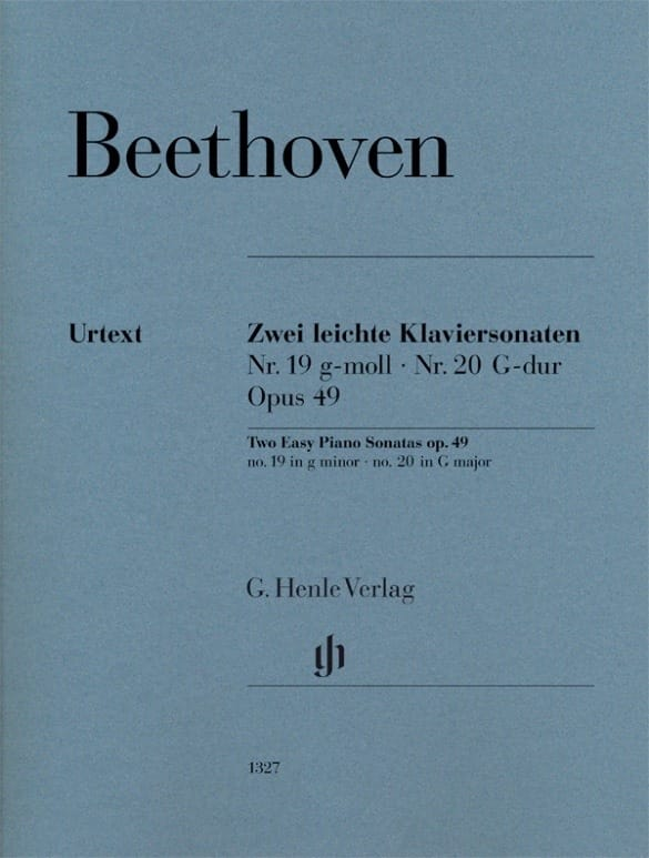 Ludwig van Beethoven - Sonatas Opus 49-1 and 49-2 - Partition - di-arezzo.com