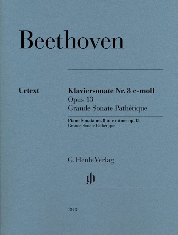 Ludwig van Beethoven - Piano Sonata No. 8 in C minor Opus 13 - Partition - di-arezzo.com