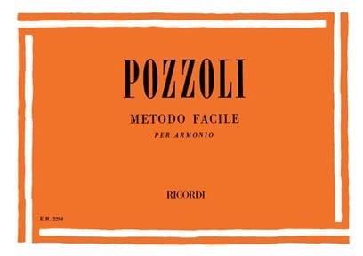 Metodo facile - Ettore Pozzoli - Partition - Piano - laflutedepan.com