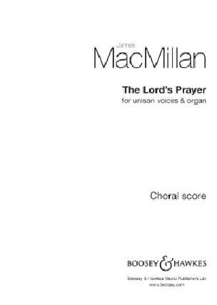 The Lord's Prayer - James MacMillan - Partition - laflutedepan.com