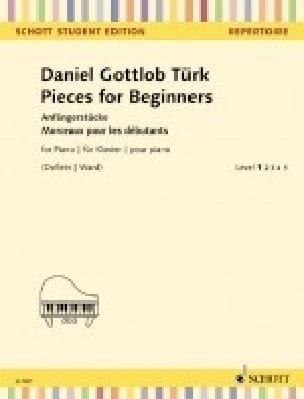 Pieces for Beginners - Daniel Gottlob Türk - laflutedepan.com