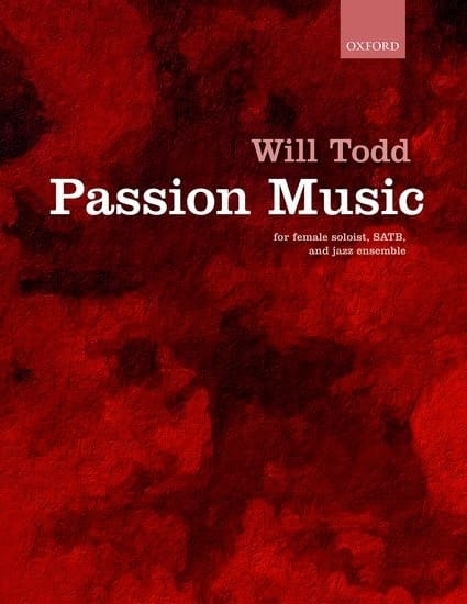 Will Todd - Passion Music - Partition - di-arezzo.fr