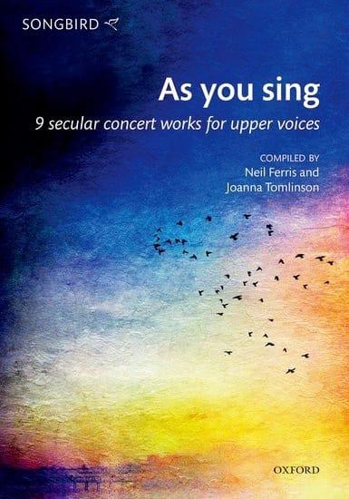 As you sing - Partition - Chœur - laflutedepan.com