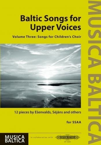 Baltic Songs for Upper Voices. Volume 3 - laflutedepan.com