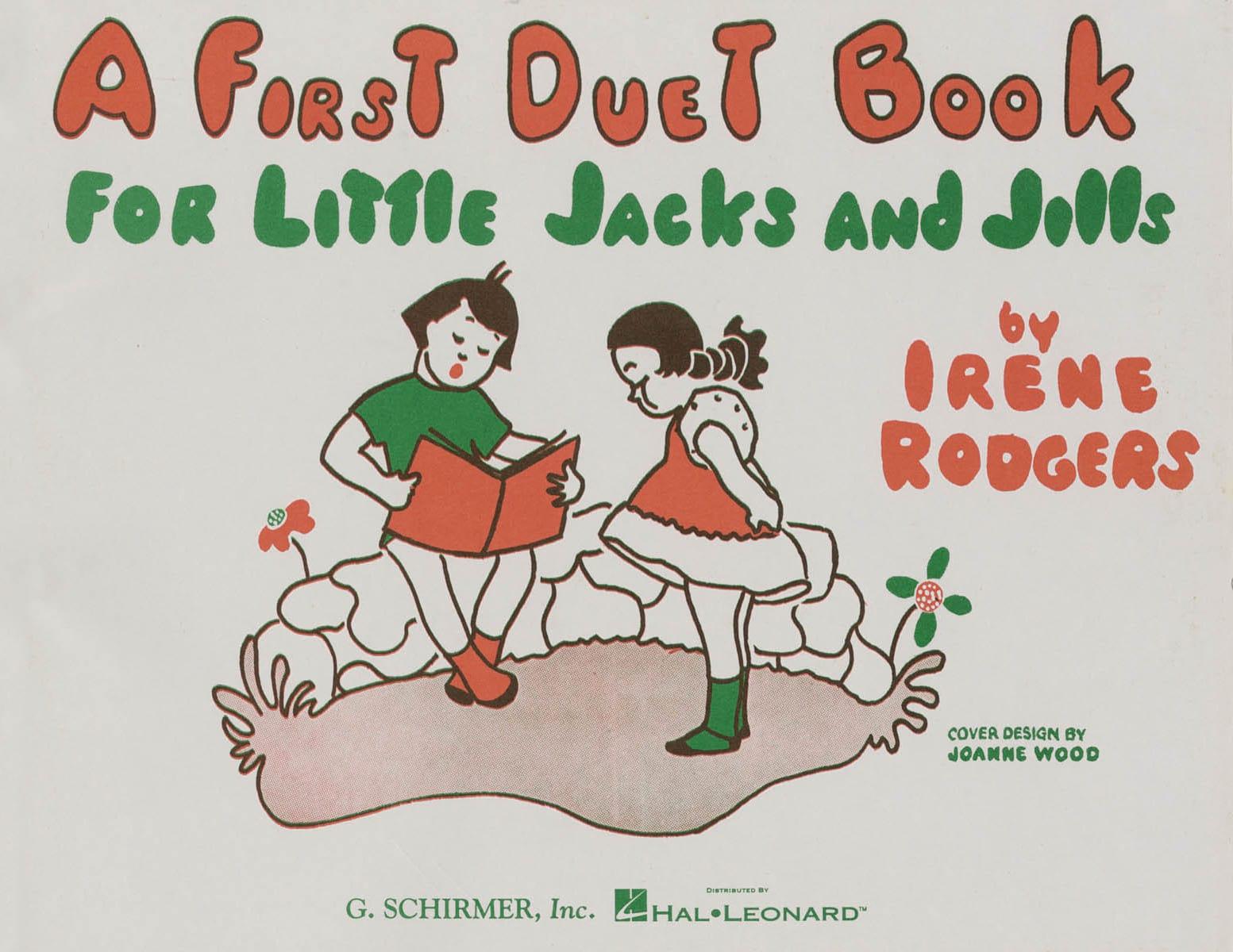 First duet book for little Jacks and Jills - laflutedepan.com