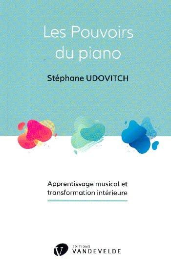 UDOVITCH Stéphane - The powers of the piano - Livre - di-arezzo.co.uk