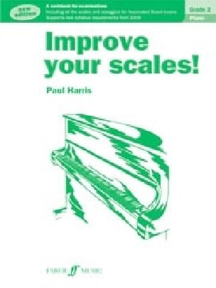 Improve your scales. Grade 2 - Paul Harris - laflutedepan.com