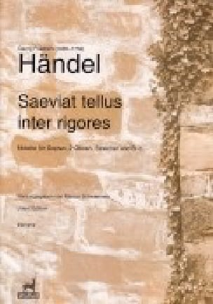 Saeviat tellus inter rigores. HWV 240 Matériel - laflutedepan.com