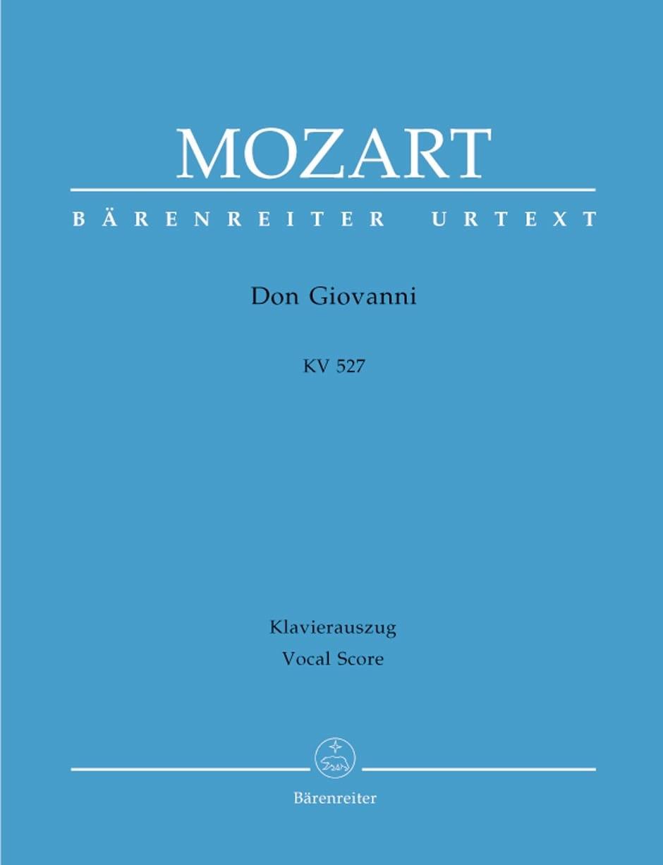 Don Giovanni K 527. Edition Reliée - MOZART - laflutedepan.com