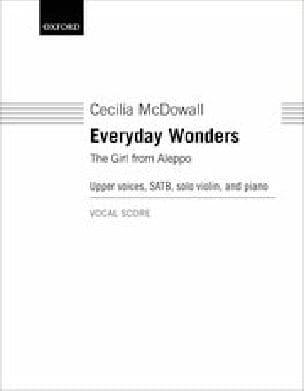 Everyday Wonders - Cecilia McDowall - Partition - laflutedepan.com