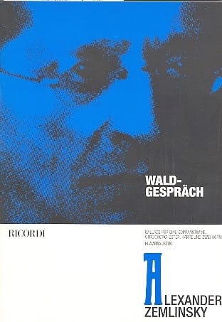 Waldgesprach - ZEMLINSKY - Partition - Mélodies - laflutedepan.com