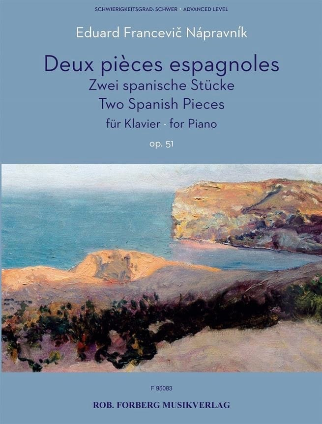 2 Pièces Espagnoles Opus 51 - laflutedepan.com