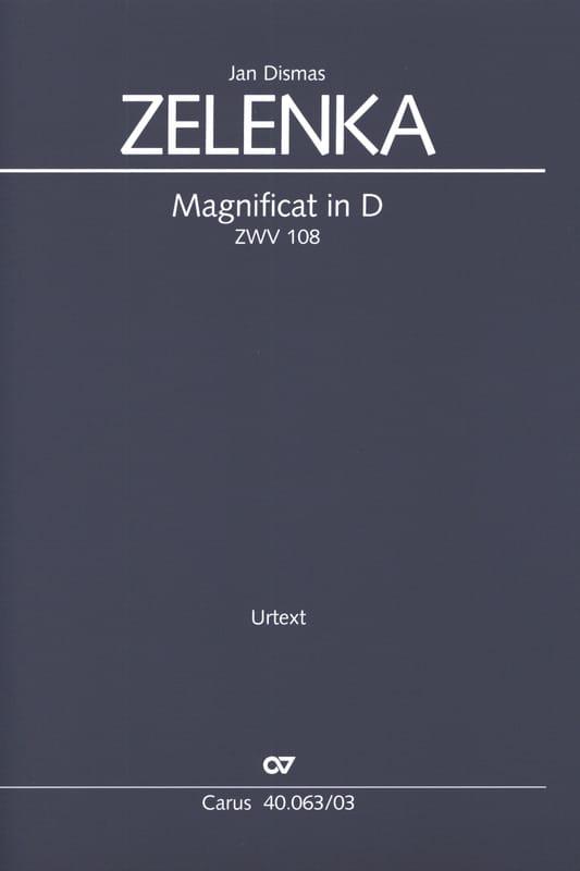 Magnificat en Ré majeur ZWV 108 - ZELENKA - laflutedepan.com