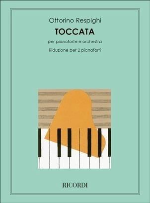 Toccata - RESPIGHI - Partition - Piano - laflutedepan.com